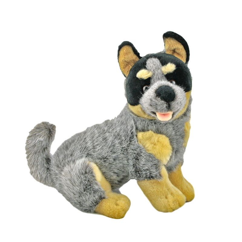 Bluey Australian Blue Heeler Cattle Dog Stuffed Plush Toy Puppy