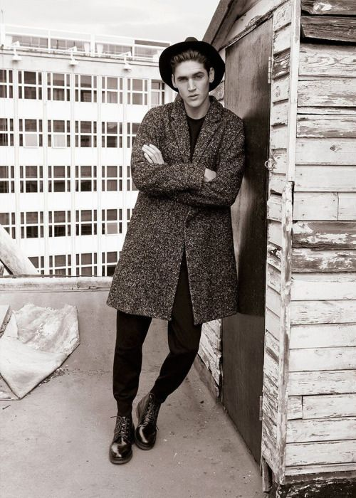 Isaac Carew ph Andreas Larsson for Pull & Bear Black Label F/W 15.16