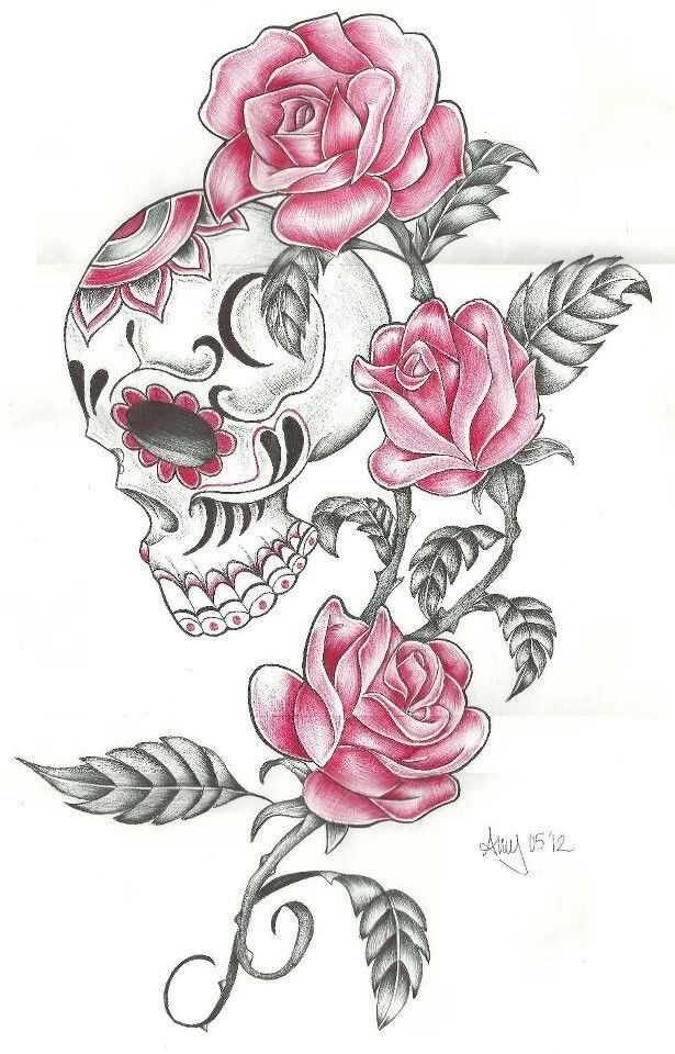 Image Result For Beautiful Skull Tattoos For Women Tattoo S