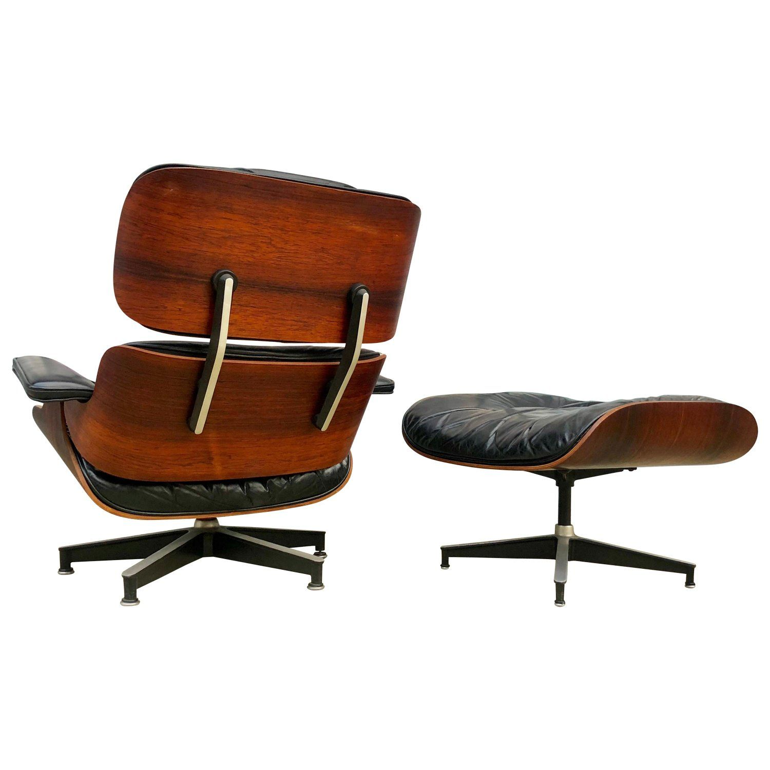Early 1960s Herman Miller Eames Lounge Chair And Ottoman Eames