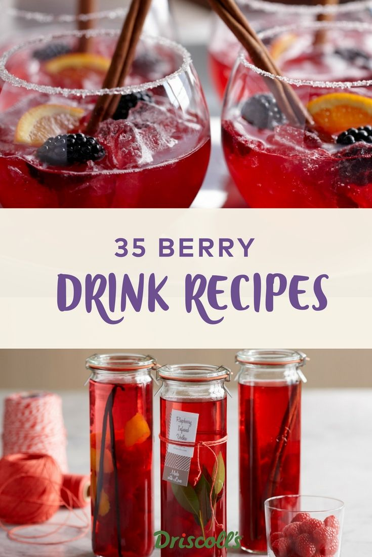 The Addition Of Fresh Berries Can Jazz Up Any Beverage From Exquisite Cocktails By Some Of The Country S Top Mi Recipes Berry Drinks Refreshing Drinks Recipes