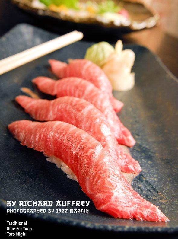 Oc Fresh Salmon Fatty Tuna And Flounder Sushi