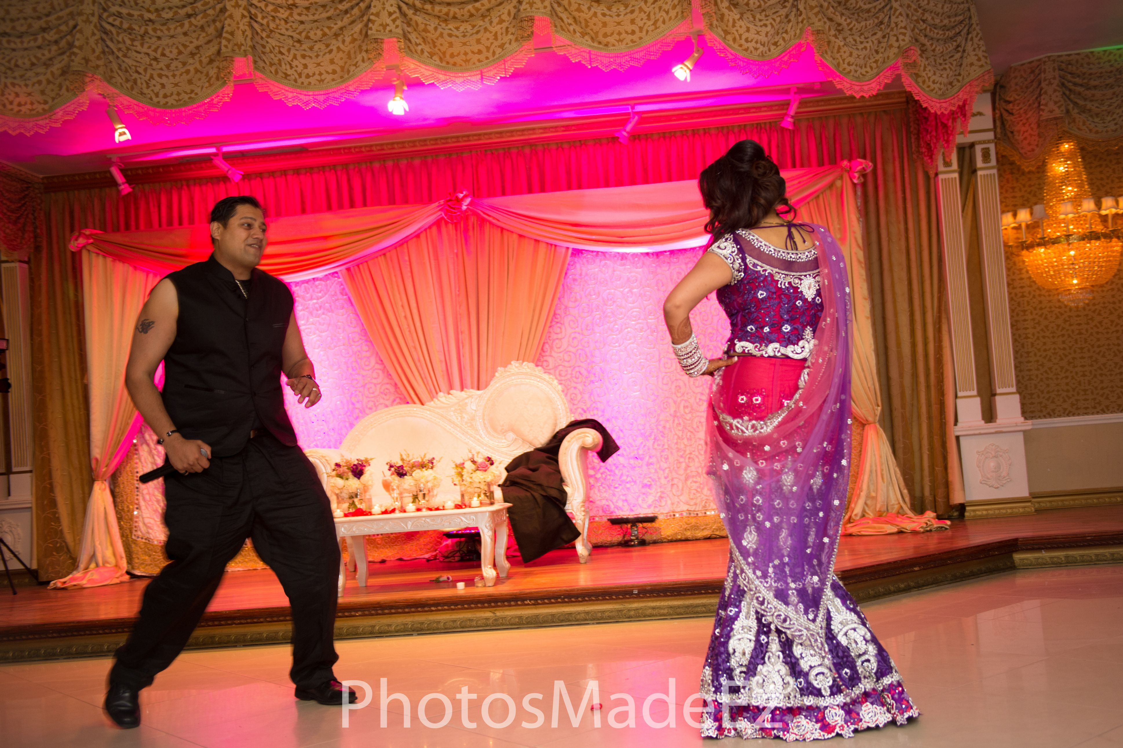 Bride and Groom Dance. Wedding Reception at Leonard\'s Palazzo, NY ...
