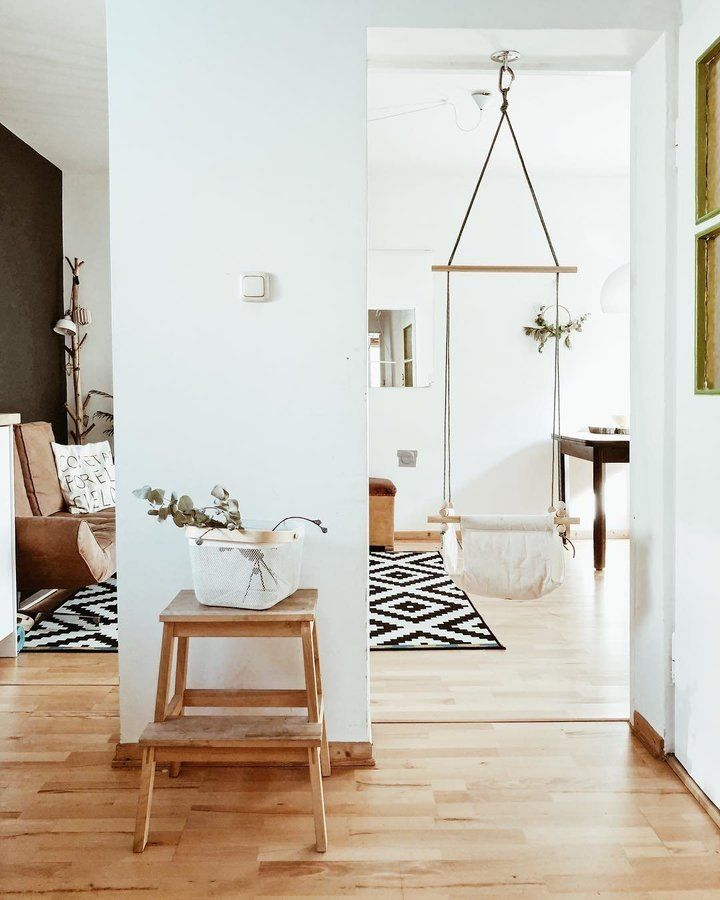 Indoor Schaukel SoLebIchde Foto nininotschka #solebich - farbe wohnzimmer ideen