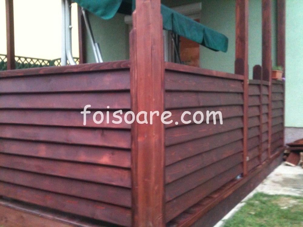 Imagini foisoare din lemn si modele de foisoare for Modele de balcon din lemn