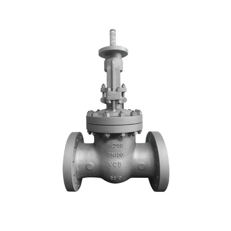 Bare Stem Carbon Steel Flanged Flexible Wedge Gate Valve Carbon Steel Gate Valve Steel Gate