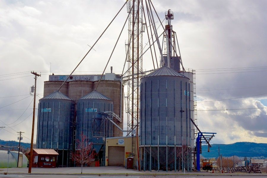 Kalispell Flour Mill in Flathead County, Montana.