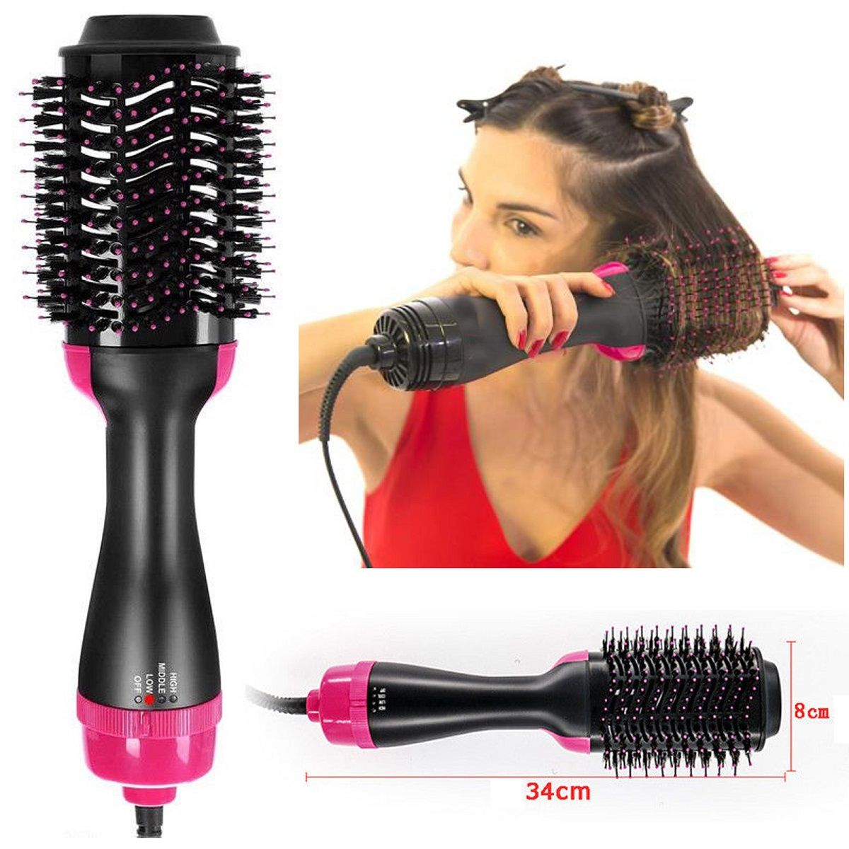 Pro Collection Salon 2 In 1 One Step Hair Dryer and