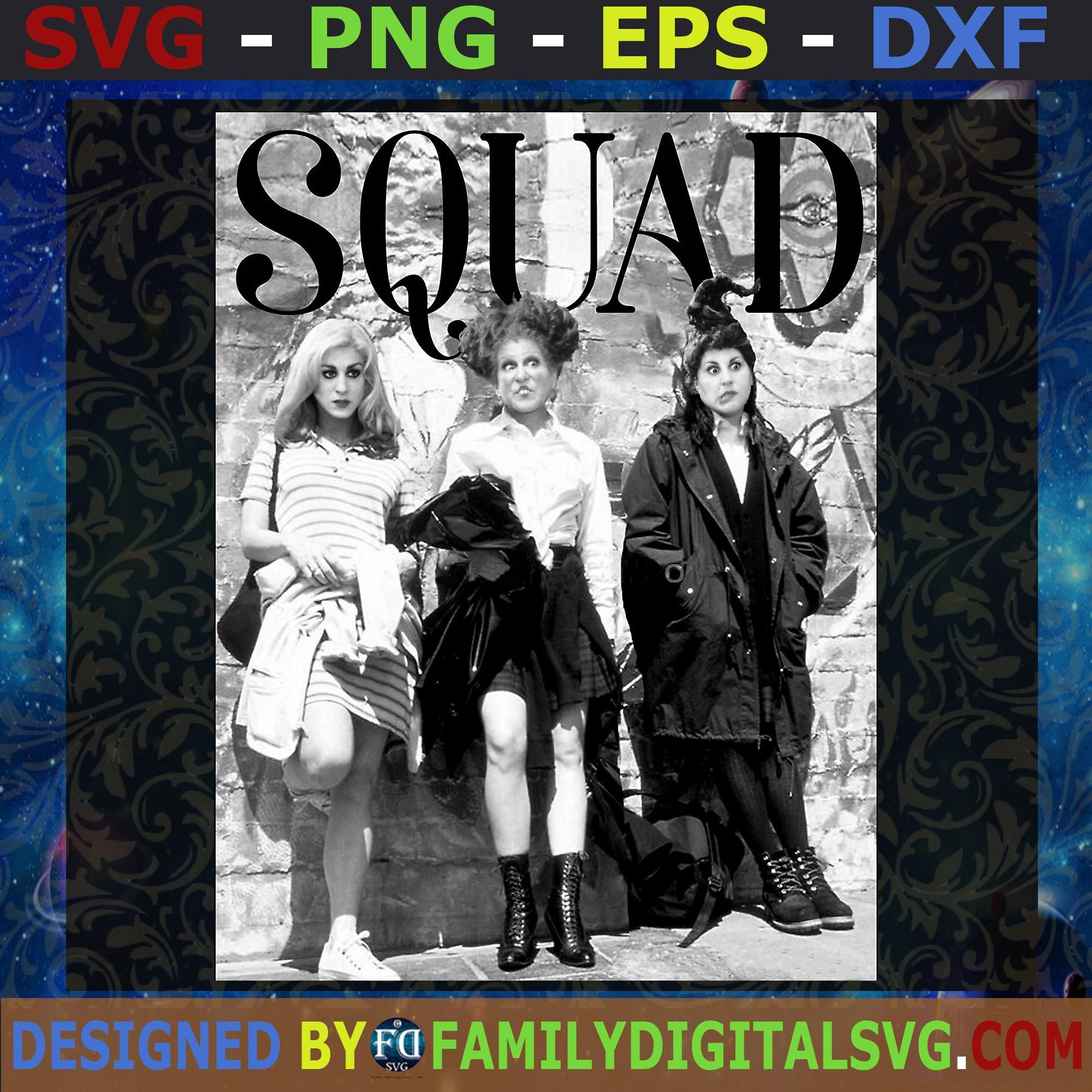 Squad Png Hocus Pocus Png Squad Hocus Pocus Png Halloween Squad Png Halloween 2020 Png Instant Download Digital Files Squad
