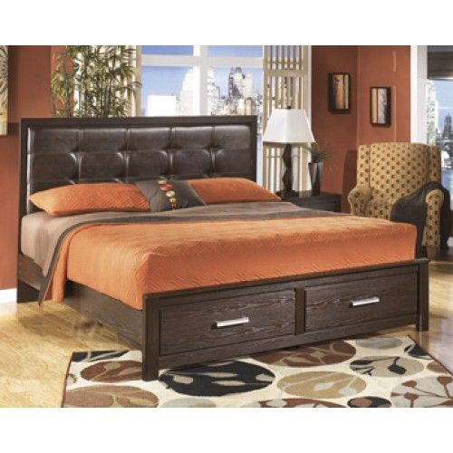 King Storage Bed, Ashley Furniture Colorado