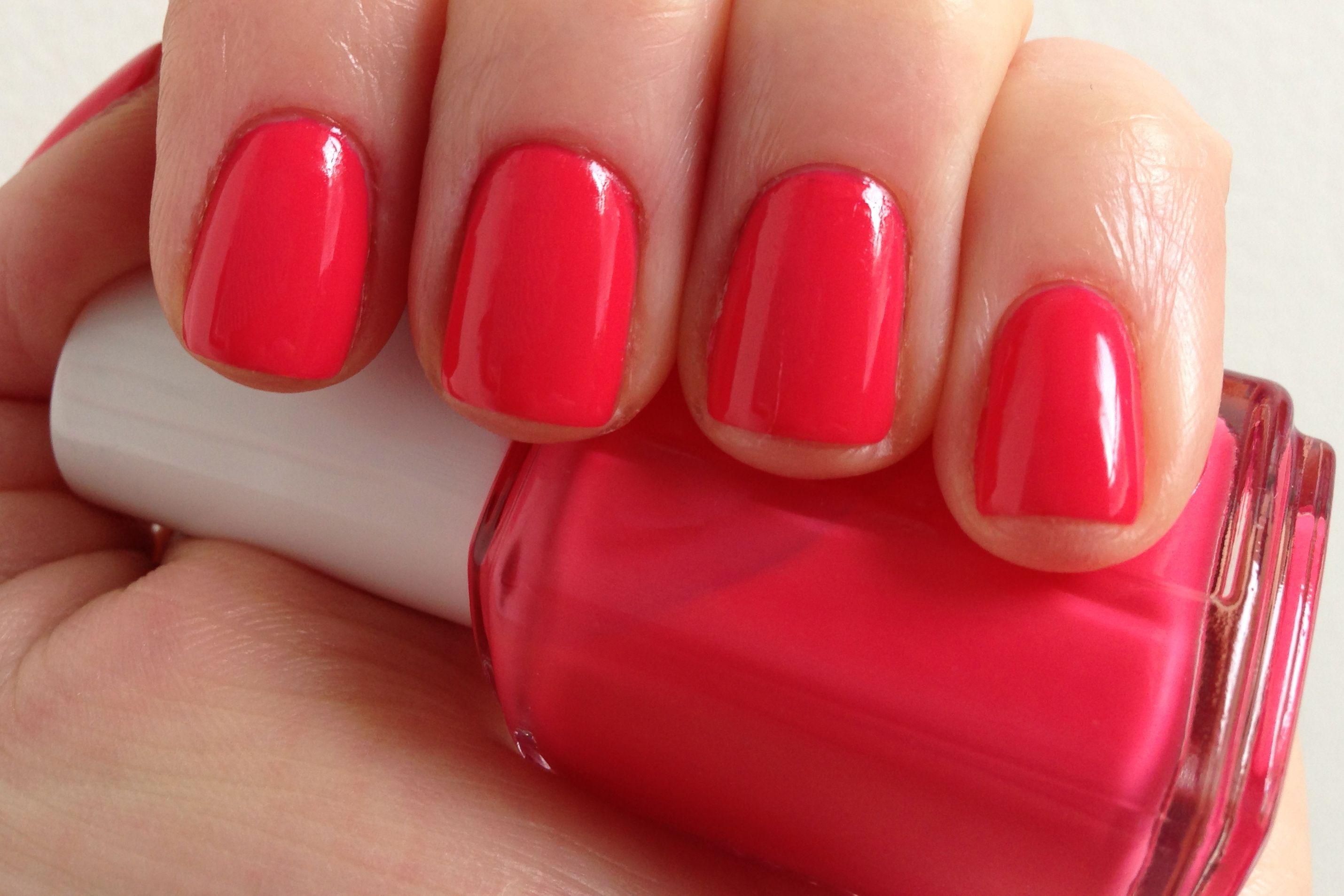 Essie Peach Daiquiri Nail Polish Nails