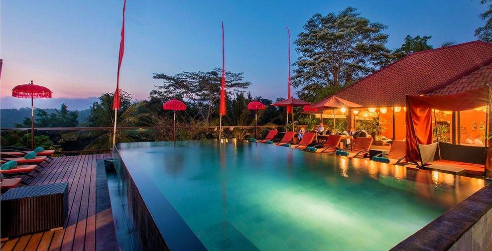 Ce n\u0027est pas un luxueux hôtel qui vous attend à Bali piscine