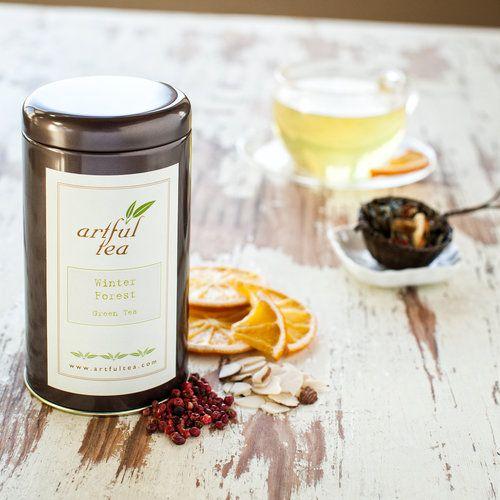 Photo of Winter Forest Green Tea — ArtfulTea