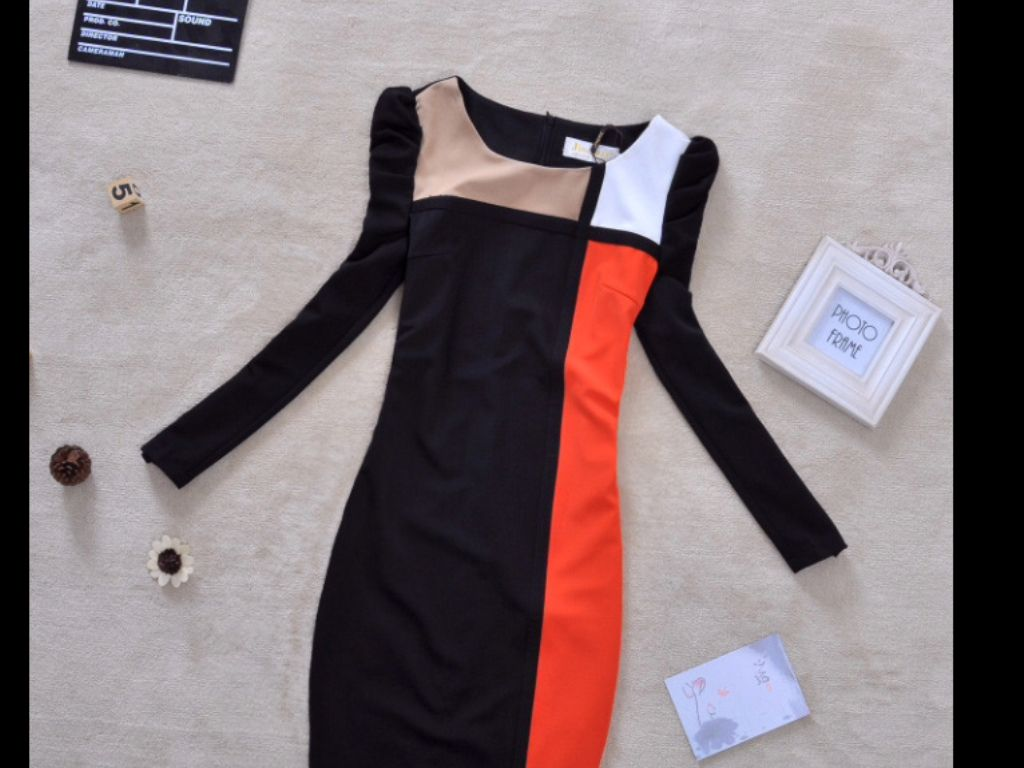 A cute dress for an fashion show wow simple this dress is from