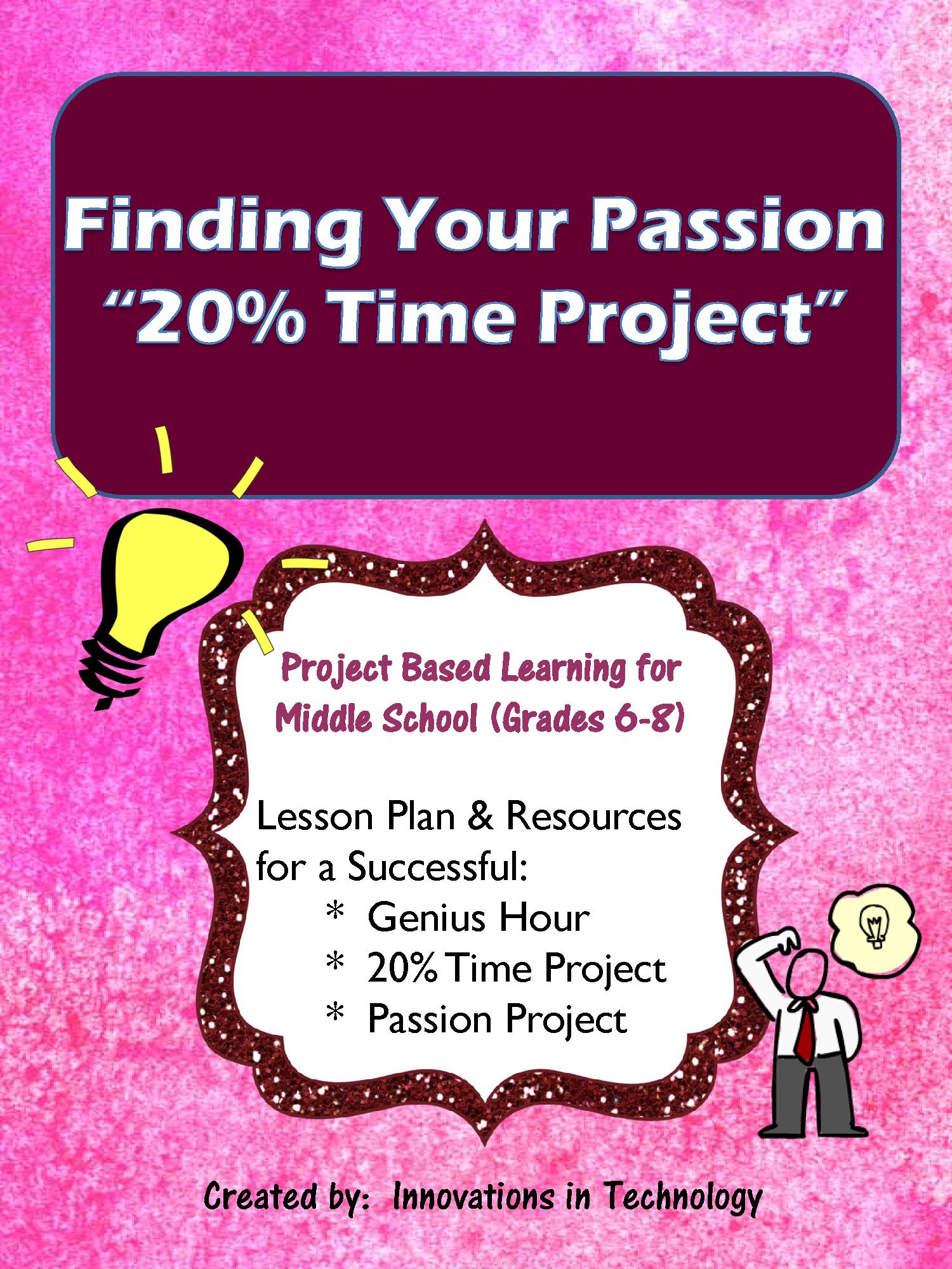 Genius Hour Passion Project Lets Students Brainstorm