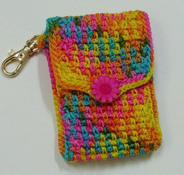 CELL PHONE HOLDER CROCHET PATTERN - Crochet — Learn How to ...