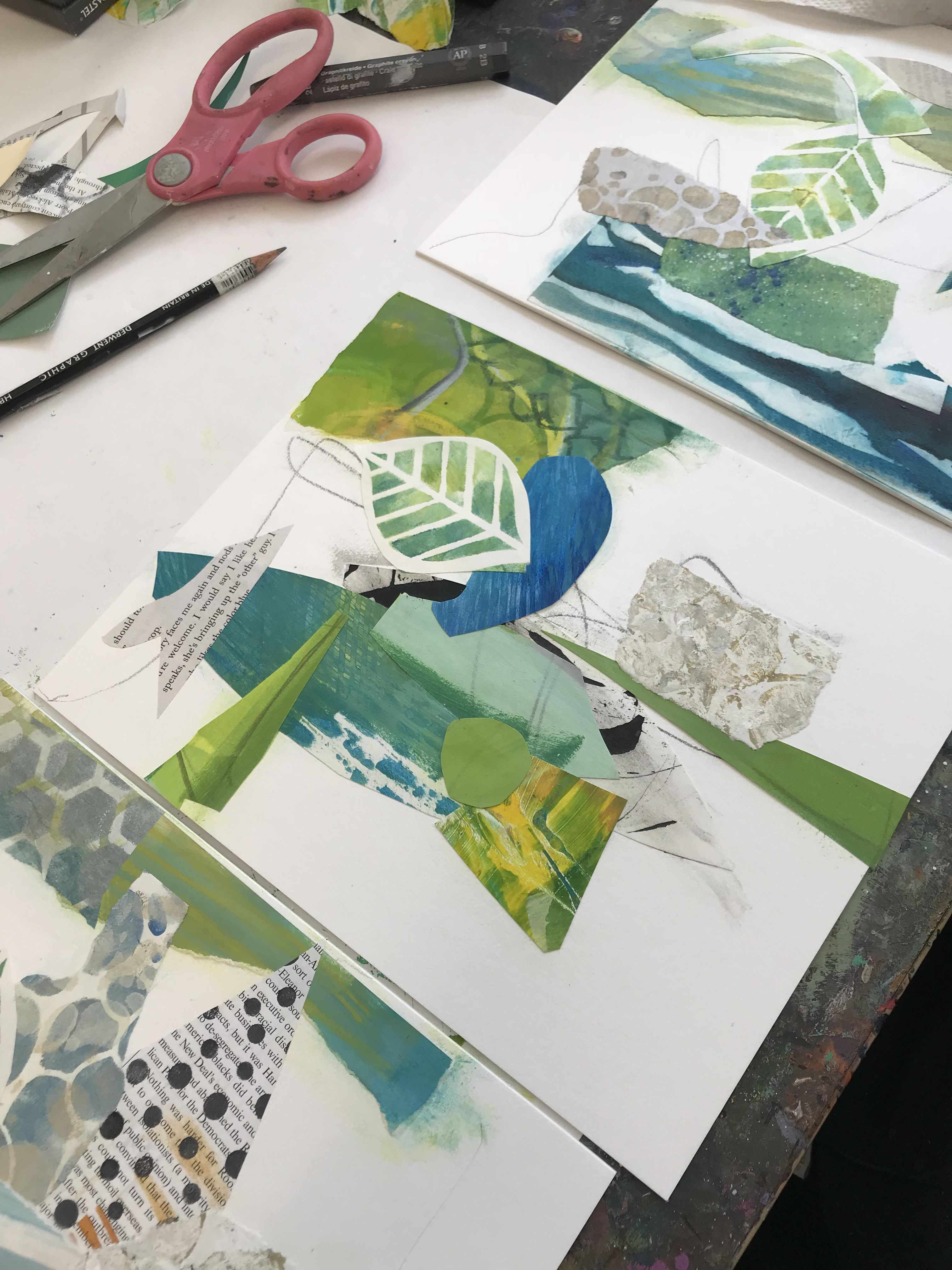 Making Your Mark In Contemporary Abstract Art And Collage West Hartford Art League Http Www Cdiannezweig Collage Art Mixed Media Paper Collage Art Paper Art