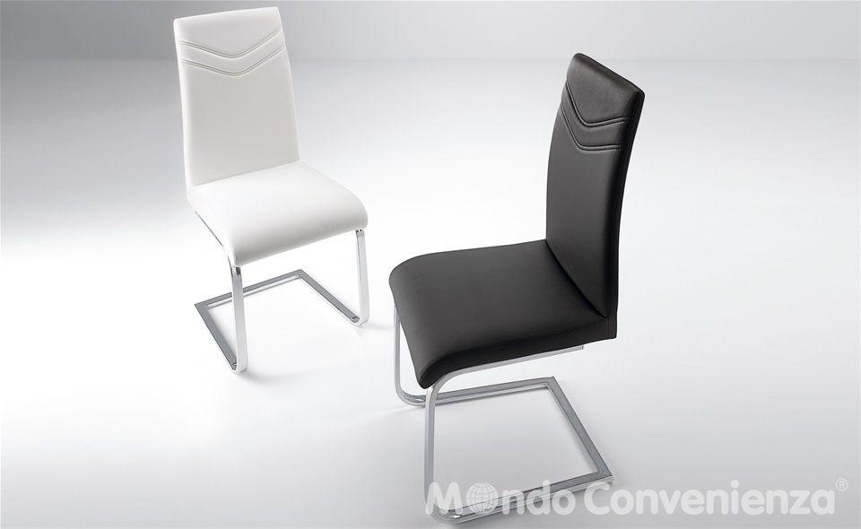 Sedie Moderne Mondo Convenienza.Sedia Moderno Mondo Convenienza Maison Sedia