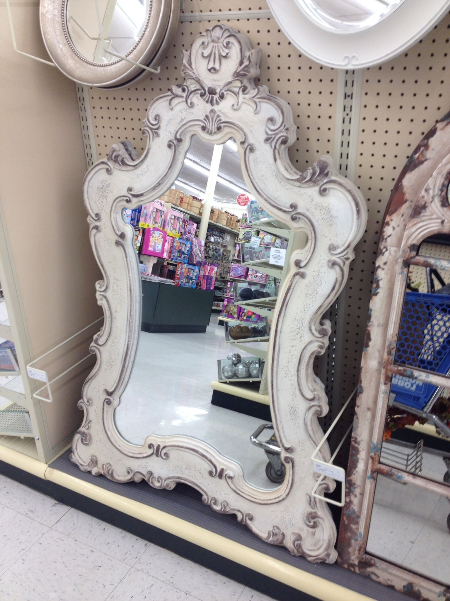 Mirror from hobby lobby bath pinterest lobbies for Bathroom decor at hobby lobby