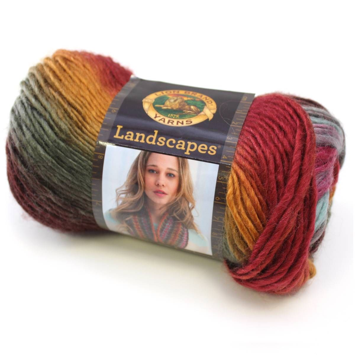 Lion Brand Landscapes (Desert Spring) | Yarn colors | Pinterest