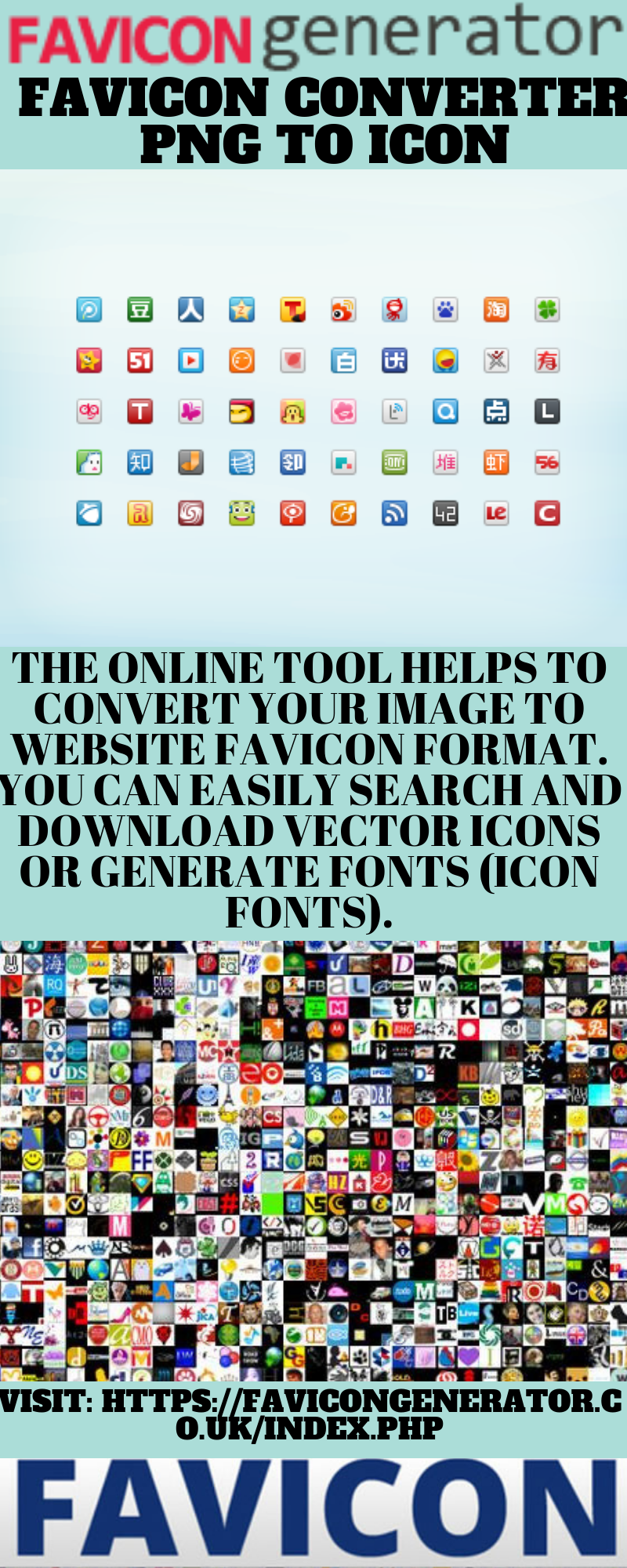 Favicon Converter Png To Icon Generation Online Tools Browser Icon