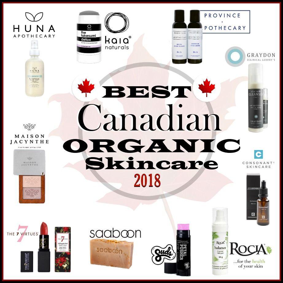 Best Canadian Organic Skincare 2018 Natürliche