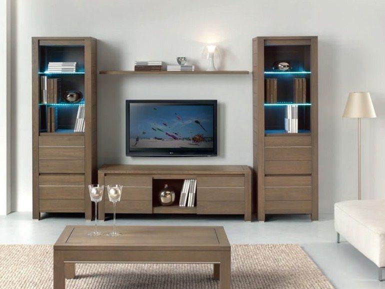 Mueble modular de pared con soporte para tv VOGUE by Domus Arte