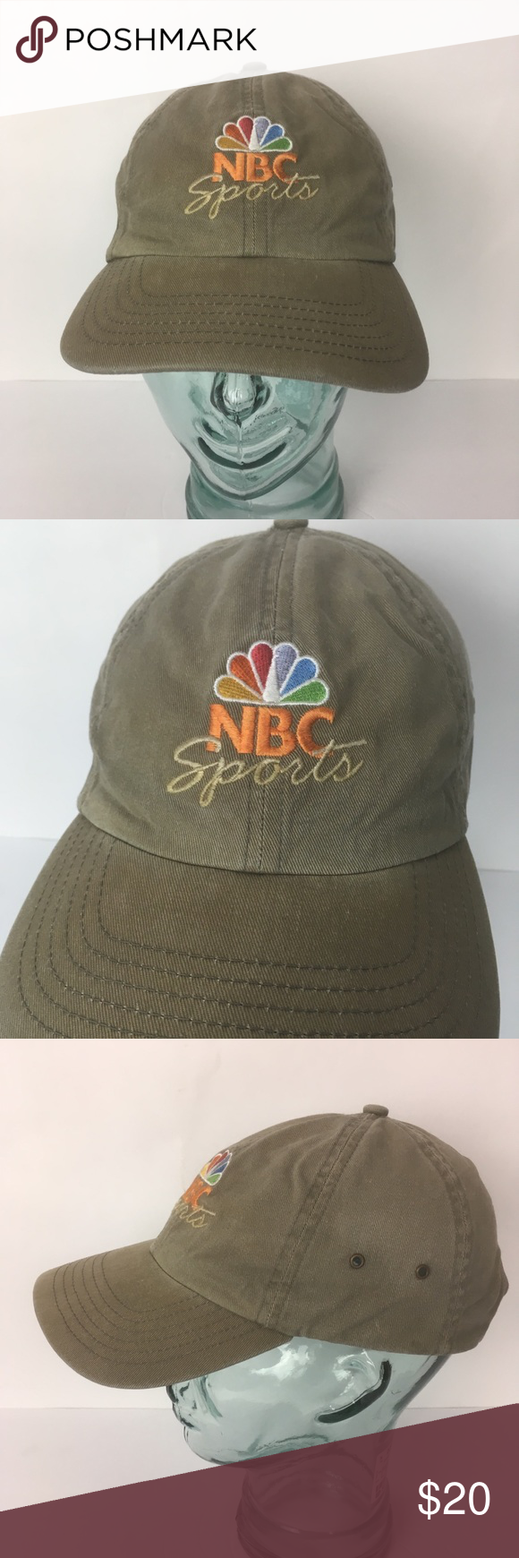 NBC sports peacock logo hat NBC sports peacock logo hat