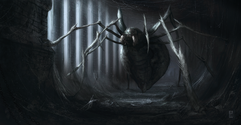 Gigant fantasy spider