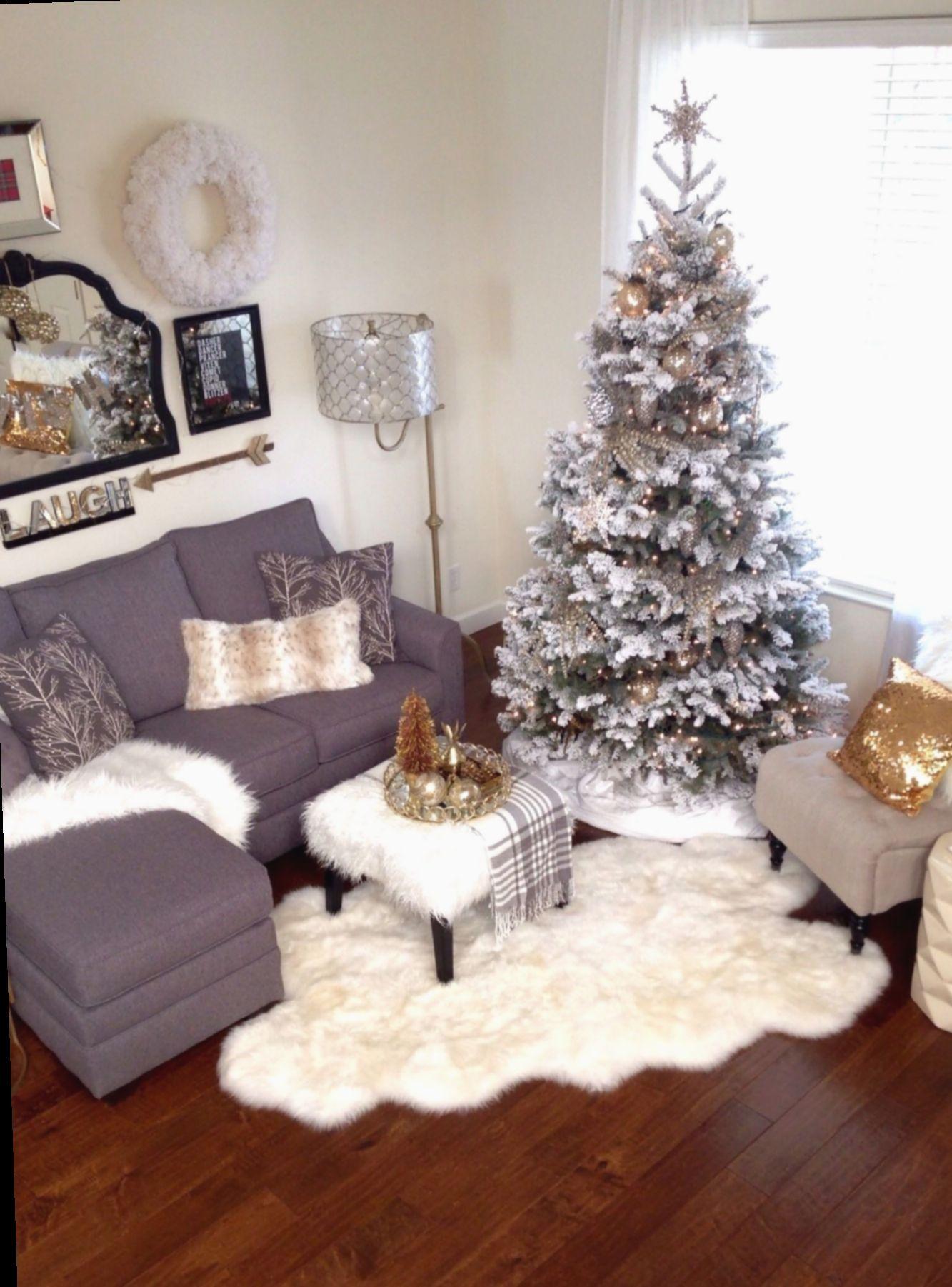13 Christmas Decor Ideas For Living Room Apartment Christmas Apartment Christmas Living Rooms Christmas Decorations Living Room Small living room christmas