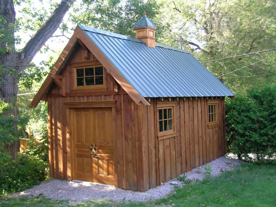 craftsman shed - by airamb @ LumberJocks ~ woodworking community
