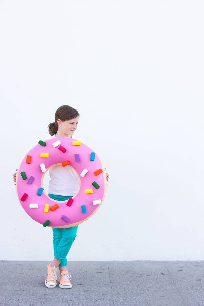 DIY Donut Costume for Halloween | Donut costume, Diy donuts and ...