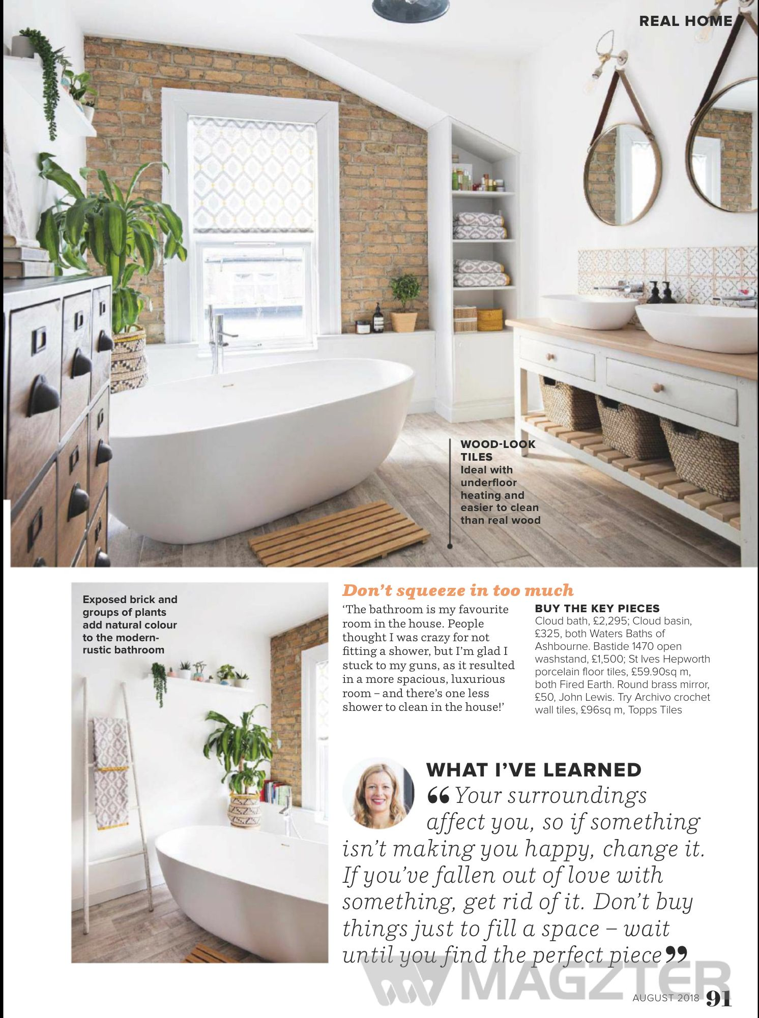 Read Ideal Home Uk On Magzter Bathroom In 2018 Home Ideal Home