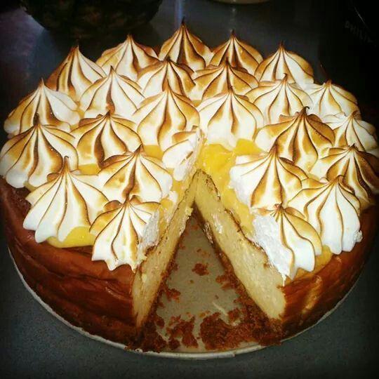Lemon curd and  Cheesecake