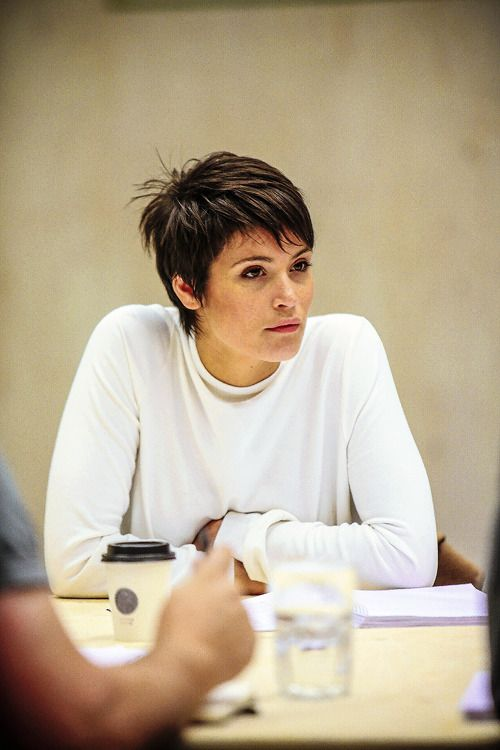 Gemma Arterton in rehearsals for Saint Joan at the