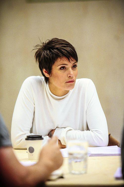 gemmaartertonedit — Gemma Arterton in rehearsals f