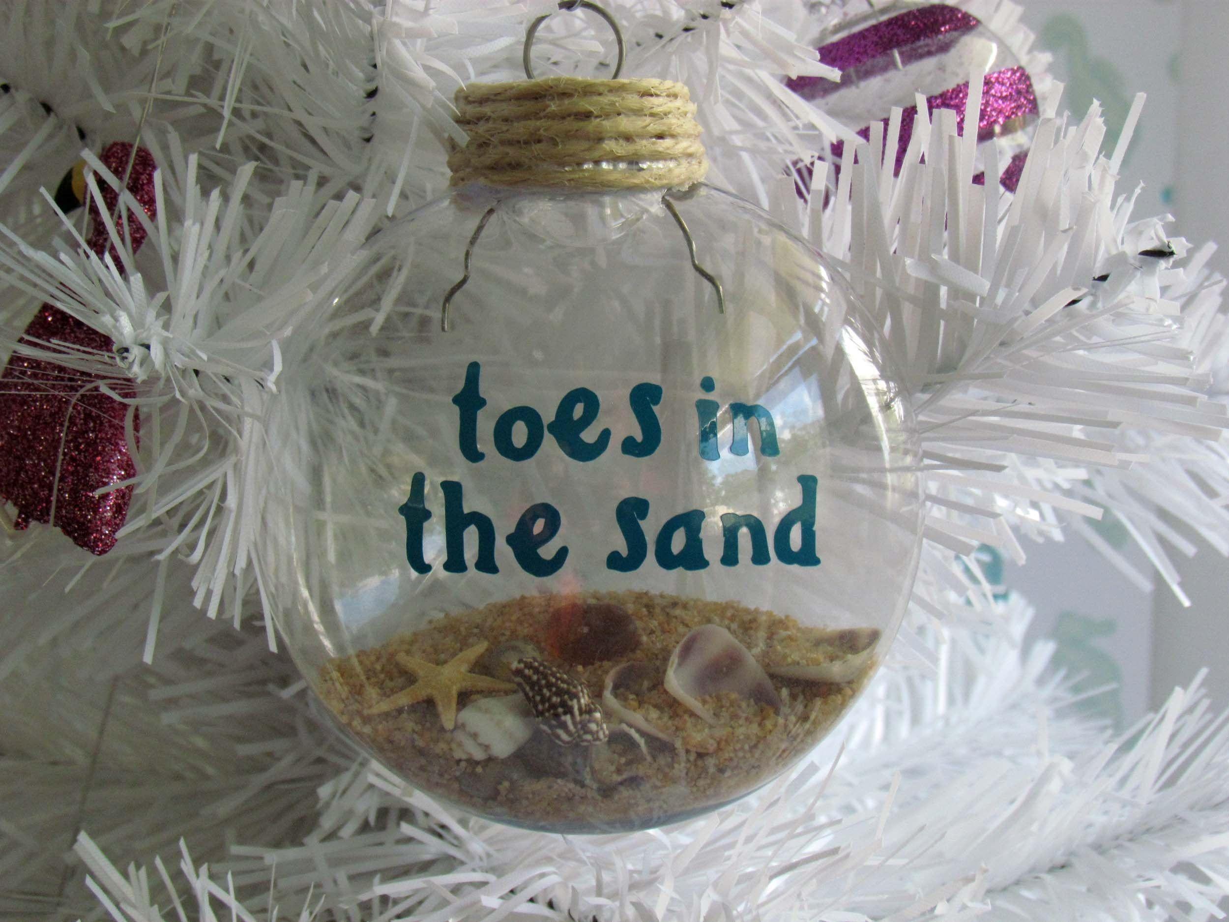 Nautical Beachy Beach Sand ornament Beachy Home Deco Florida Souvenir Coastal Ornament Nautical Christmas Beach Decor