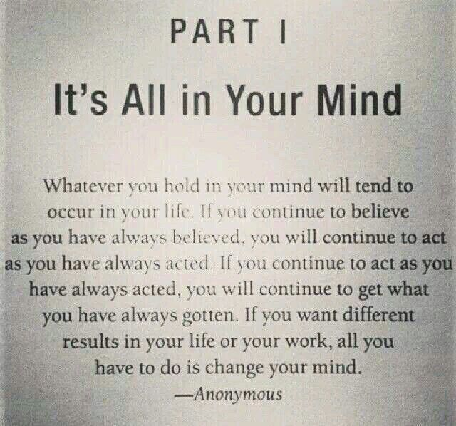 Quantum Physics It's All In Your Mind