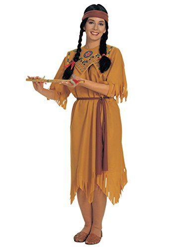 size pocahontas costume Plus