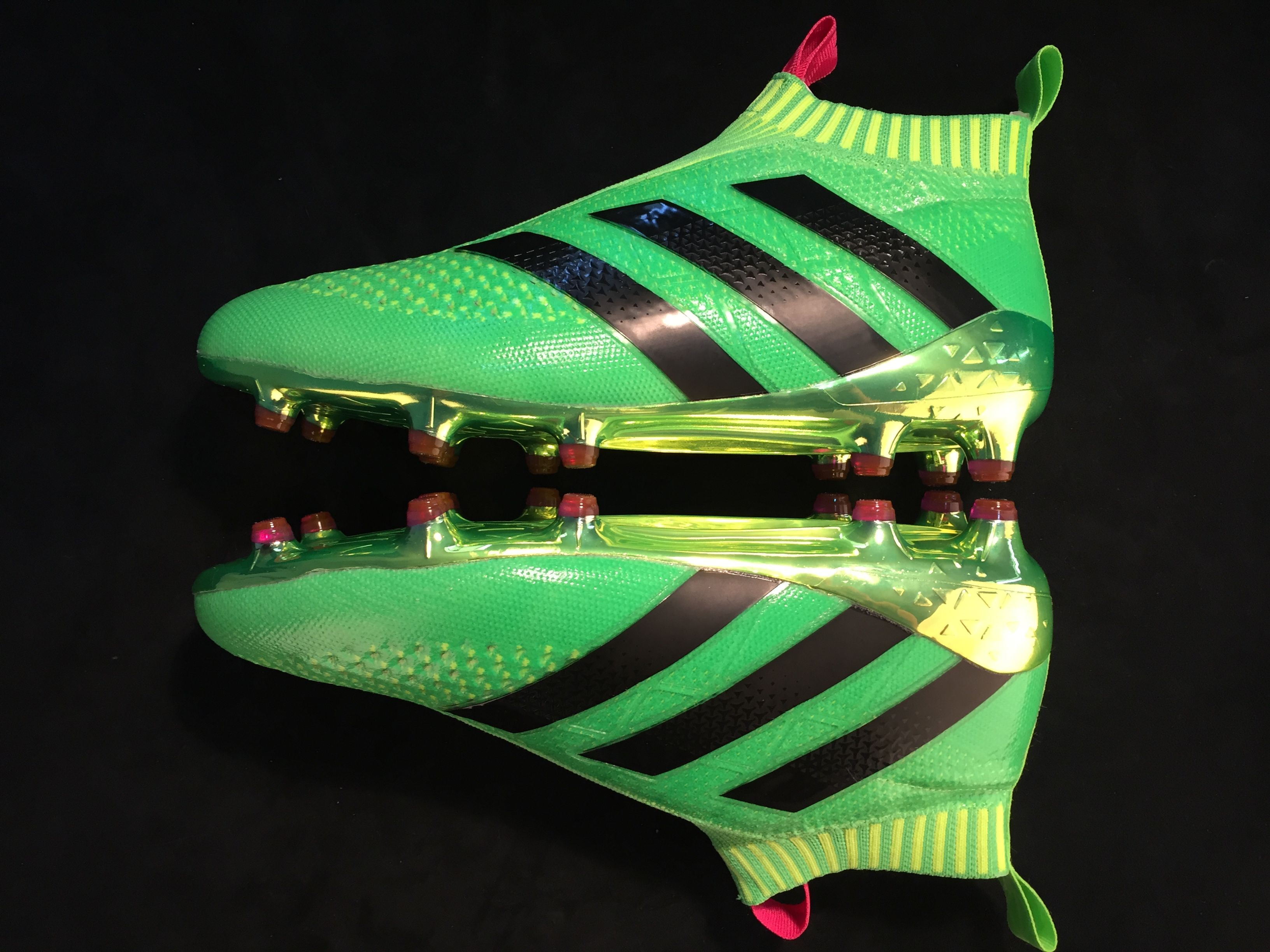 2017 Adidas Ace16 Purecontrol TF Football Boots Black Green Online