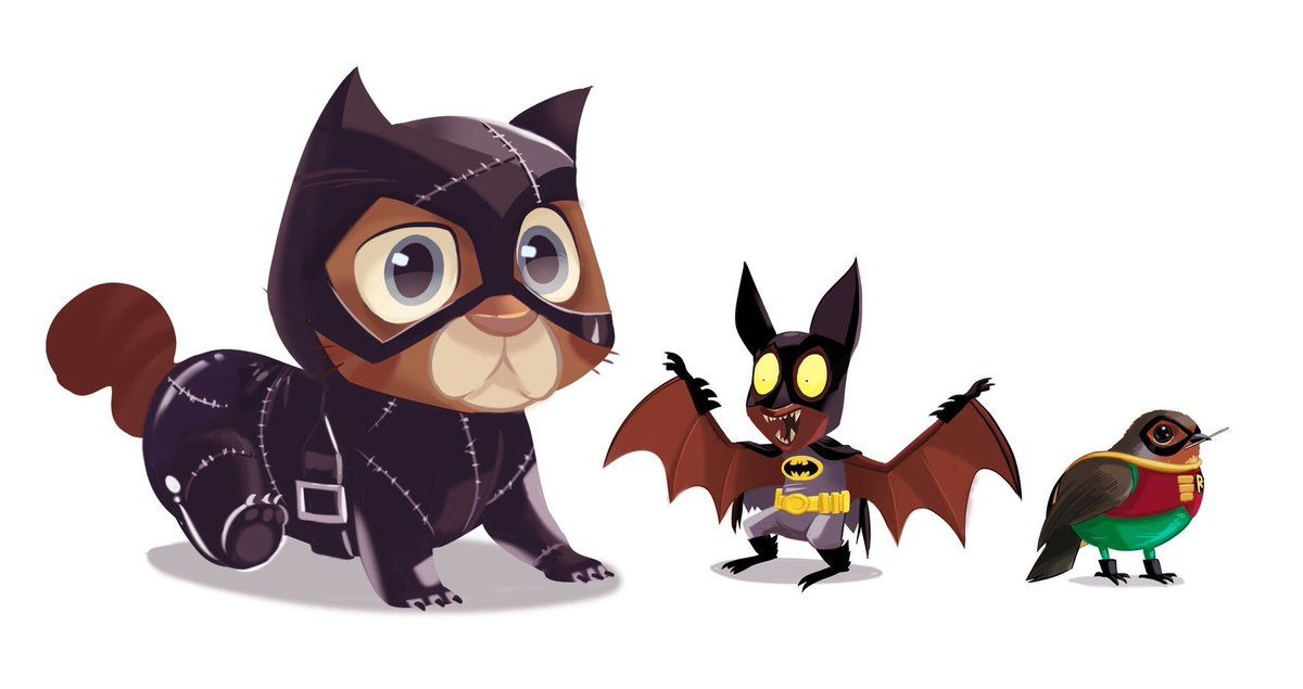 Catcat, Batbat, and Robin