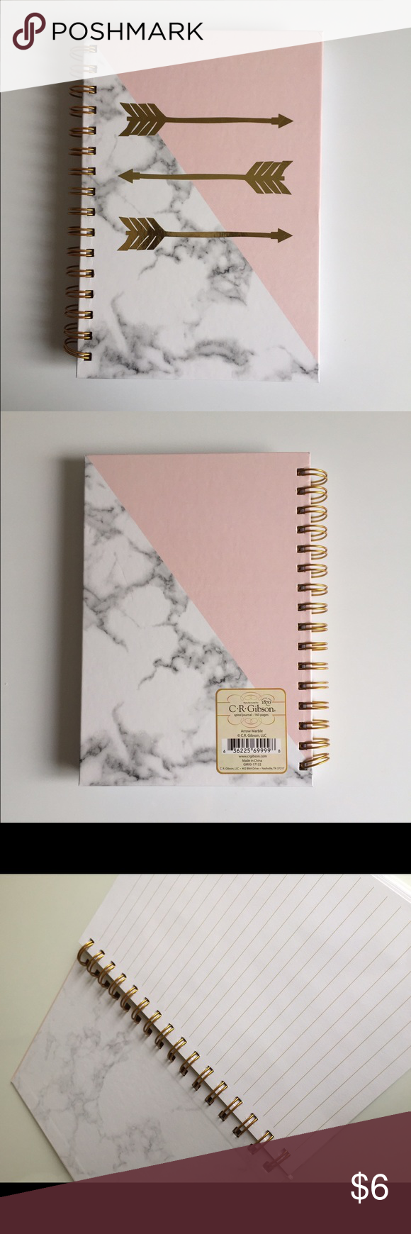 Marbled Notebook Brand New Cute Notebook Accessories Diy