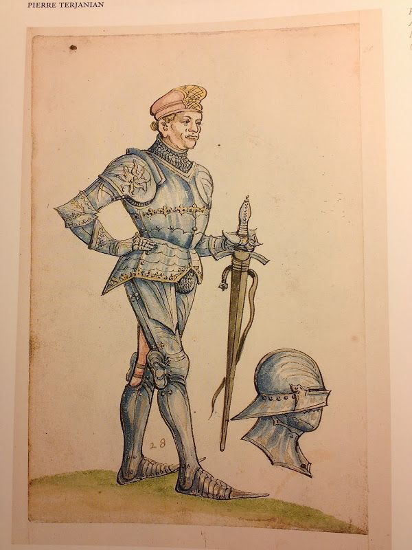 Thun Sketchbook, Helmschmied Armoury, ca 1475-1520