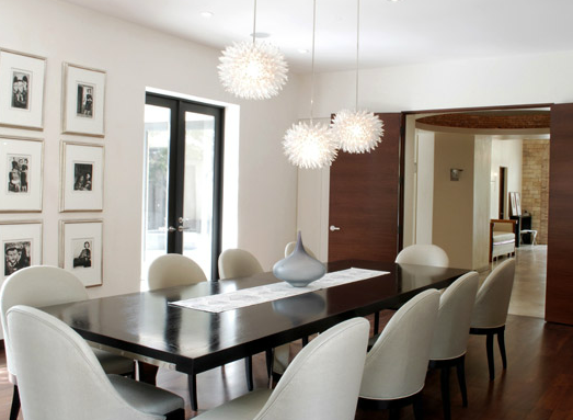 Ivory Leather Dining Room Chairs New Modern Contemporary Dining Room With Ivory Wals Paint Color Inspiration