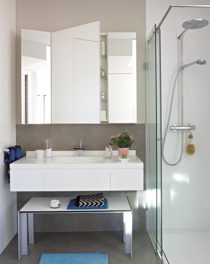 Resultado de imagen para armario espejo ba o ba os - Iluminacion para espejos de bano ...