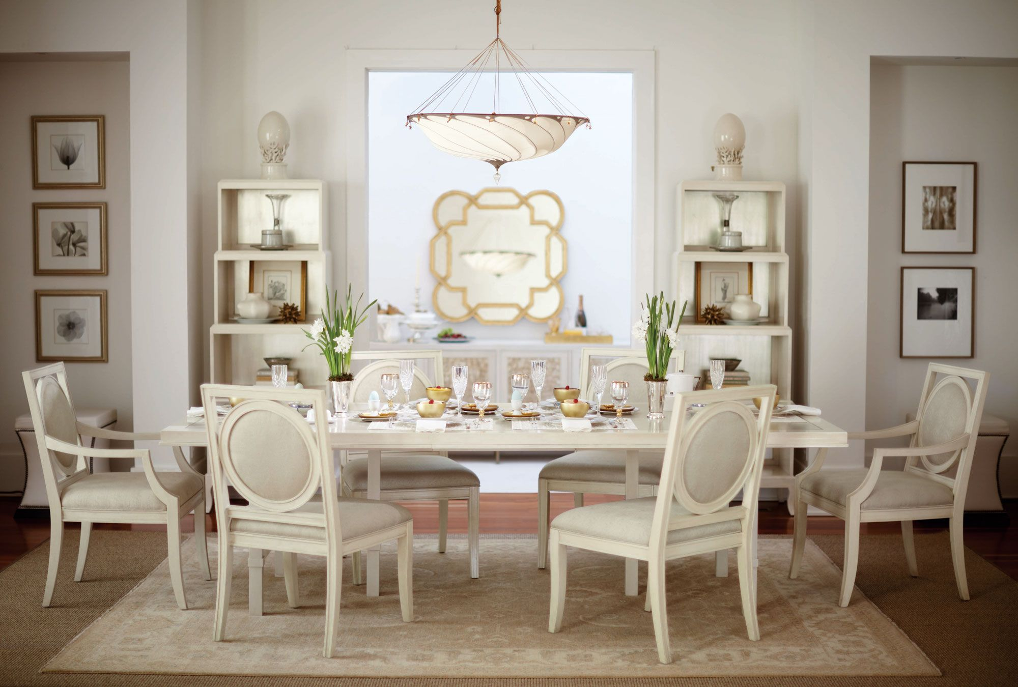 Salon Leyden Dining Room  Bernhardt  Dining Rooms  Pinterest Simple Bernhardt Dining Room Set 2018