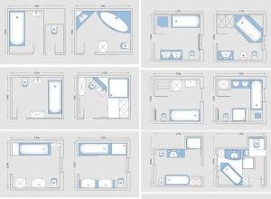 square master bathroom layouts - Google Search