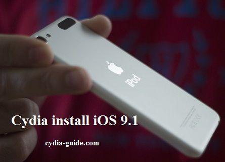 iOS 9 1 jailbreak iPod touch 6th Generation   ios 8