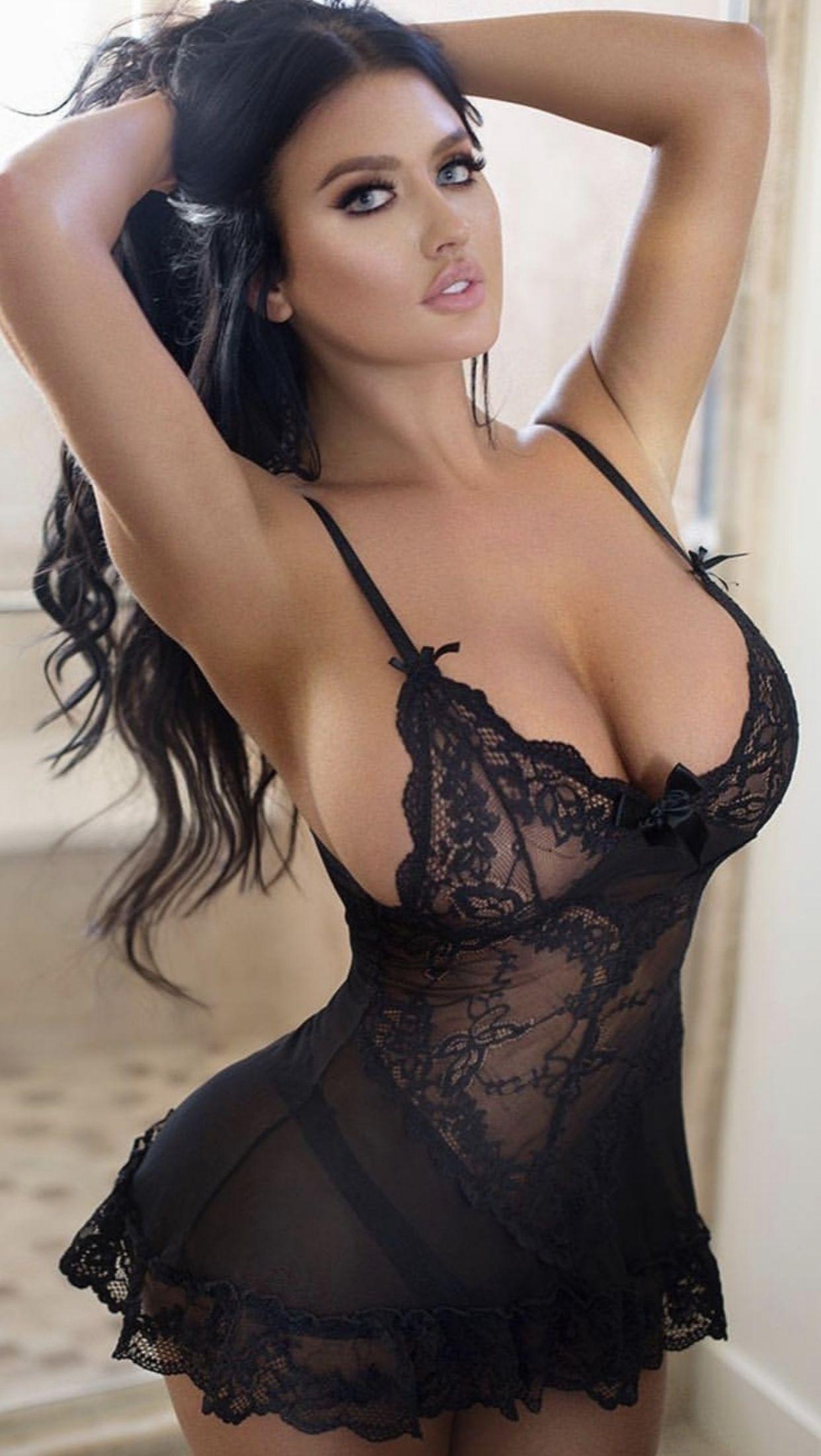 Erotic lingerie for busty women