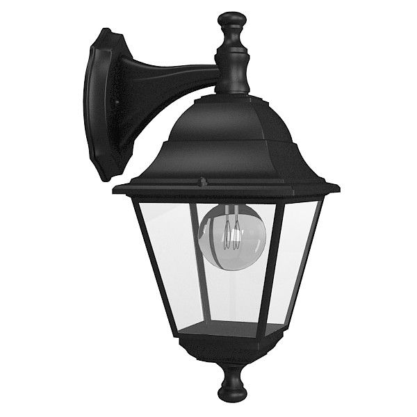 outdoor wall lamp 3d model | Spotlights and patio lights ...